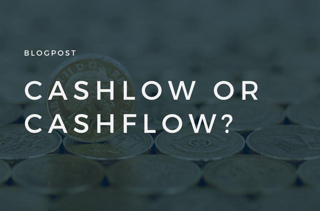 CashLow oder CashFlow?